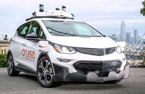 Cruise AV, General Motors, auto sin timón y sin pedales