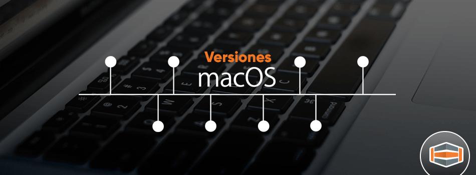 MacOS: Versiones 2001 – 2017